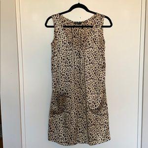 Cynthia Rowley Cheeta Print Dress
